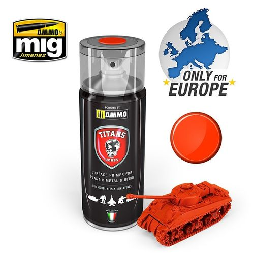 Titans Hobby: Royal Red Matt Primer  (400ml)