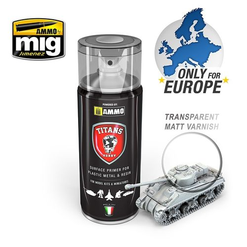 Titans Hobby: Transparant Matt Varnish/Base  (400ml)