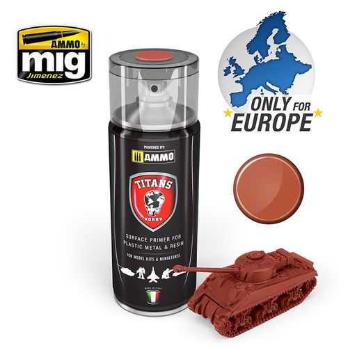 Titans Hobby: Rust Base Matt Primer  (400ml)