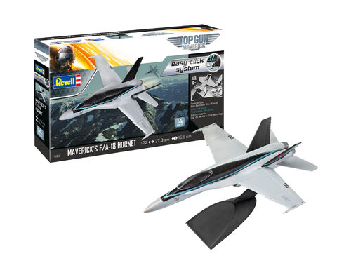 Maverick's F / A-18 Hornet 'Top Gun: Maverick' 1/72  easy click