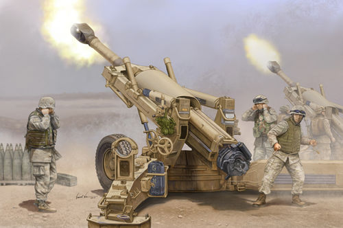 M198 155mm Towed Howitzer 1/16