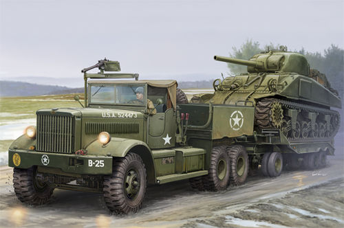 US M19 Tank Transporter With Soft Top Cab 1/35