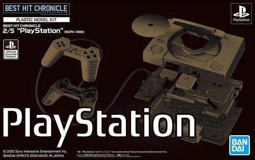 "Best Hit Chronicles : Sony PlayStation ""SCPH-1000"" scale 2/5"