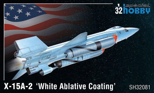 X-15A-2 White Ablative Coating   1/32