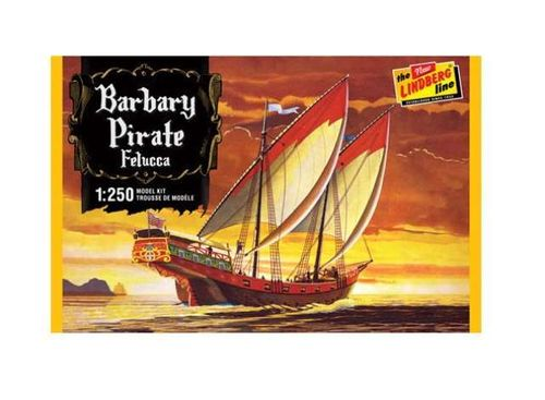 Barbary Pirate Ship *Felucca* 1/250