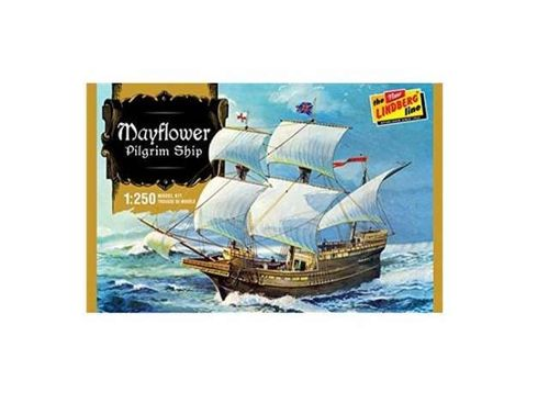 Mayflower Pilgrim Ship 1/250