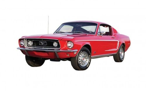 QUICKBUILD Ford Mustang GT 1968