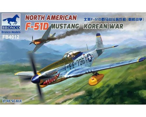 North American F-51D Mustang Korean War 1/48