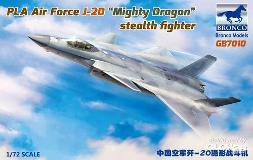 "PLA Air Force J-20 ""Mighty Dragon"" stealth fighter 1/72"