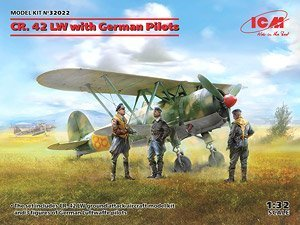 CR. 42 LW with German Pilots 1/32