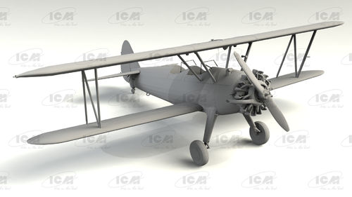 Stearman PT-13/N2S-2/5 Kaydet, American Training Aircraft 1/32