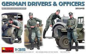 German Drivers & Officers 1/35