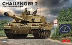 British Challenger 2 w/workable track links 1/35