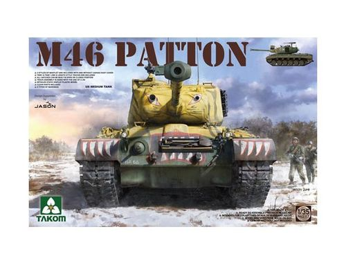 US M-46 PATTON + 1/4 ton UTILITY TRUCK 1/35