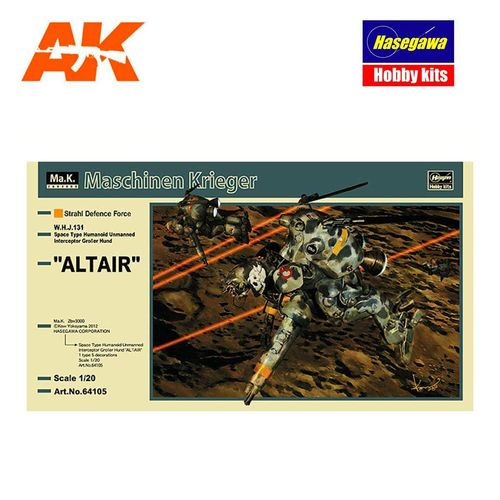 ALTAIR W.H.J.131 SPACE TYPE HUMAN 1/20 1/20