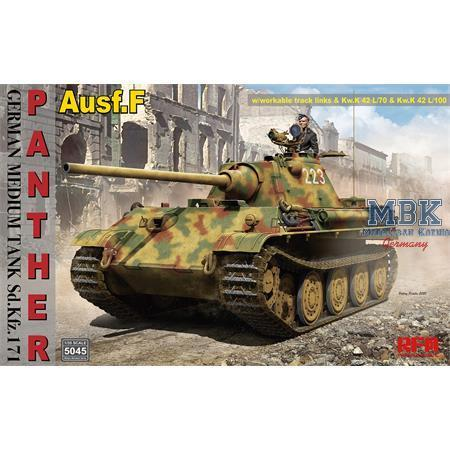 Sd.Kfz.171 Panther Ausf. F w/ workable track links 1/35