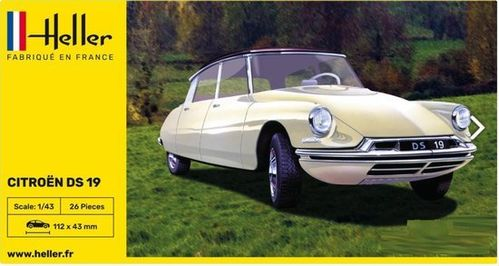 STARTER KIT Citroen DS 19 in 1:43