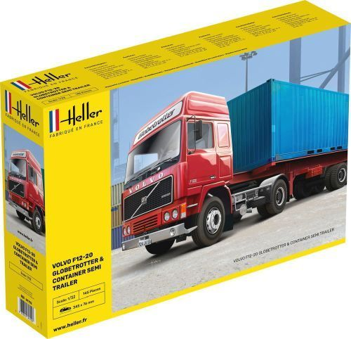 F12-20 Globetrotter & Container semi trailer 1/32
