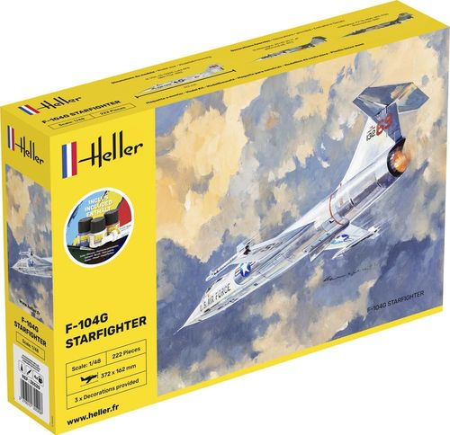 STARTER KIT F-104G Starfighter 1/48