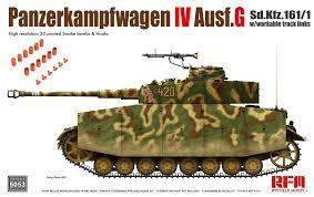 Panzer IV Ausf.G w/ workable track links 1/35