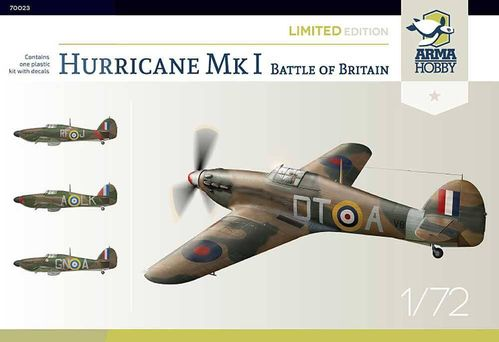 Hurricane Mk I Battle of Britain Limited Edition 1/72