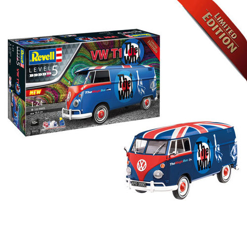 Gift Set - VW T1 'The Who' (Magic Bus) Limited Edition